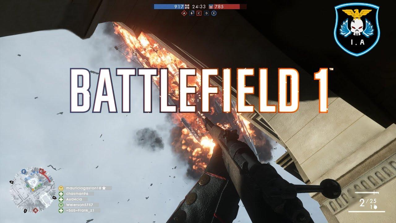 battlefield 1 asalto al sal n de baile subiendo por el