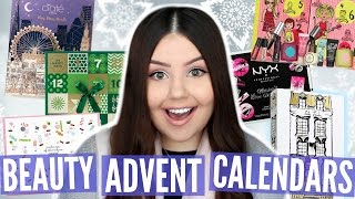 ULTIMATE GUIDE: BEAUTY ADVENT CALENDARS | Holiday Gift Guides 2016