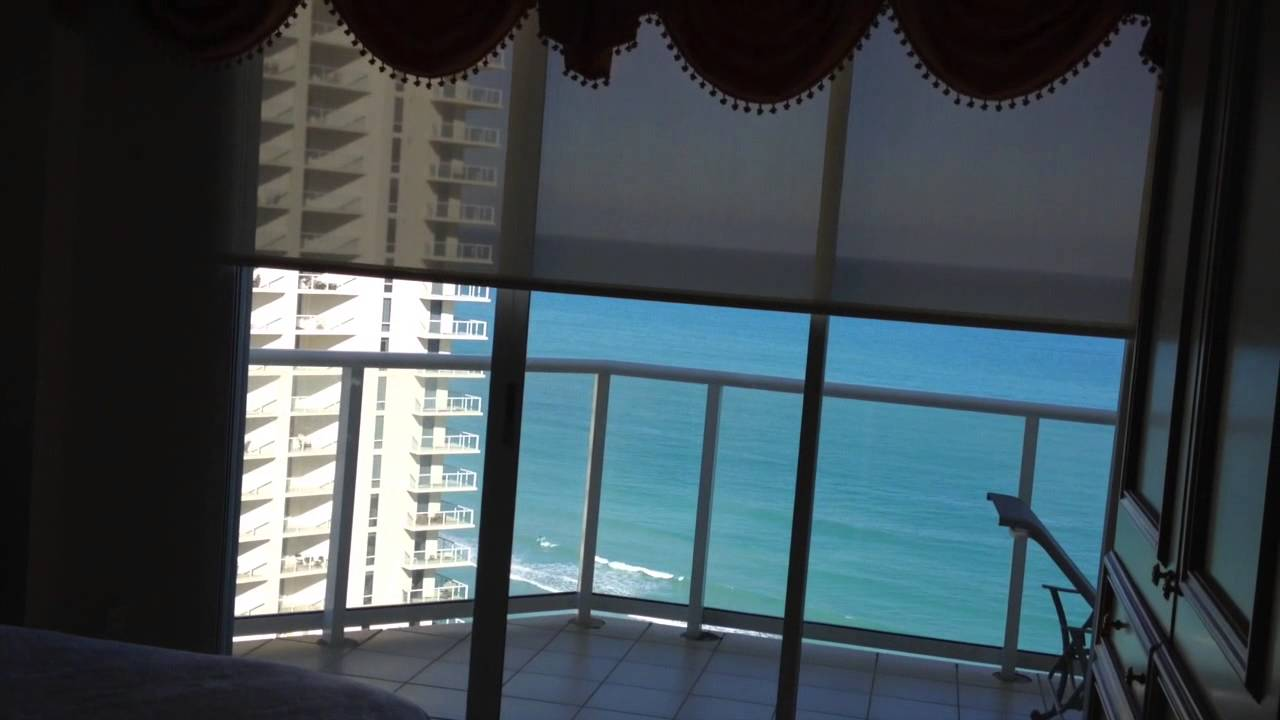 Gorgeous Motorized Roller Shades Sunny Isles Beach