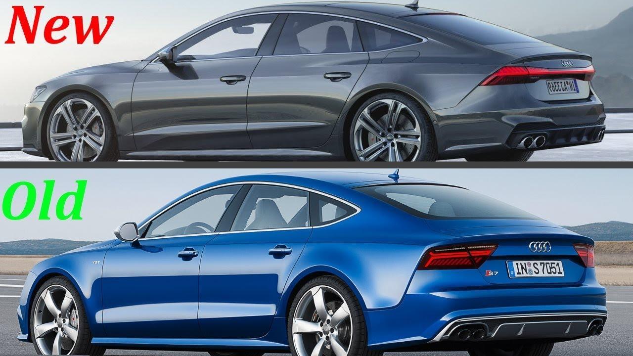 new 2020 audi s7 sportback vs  old audi s7 sportback