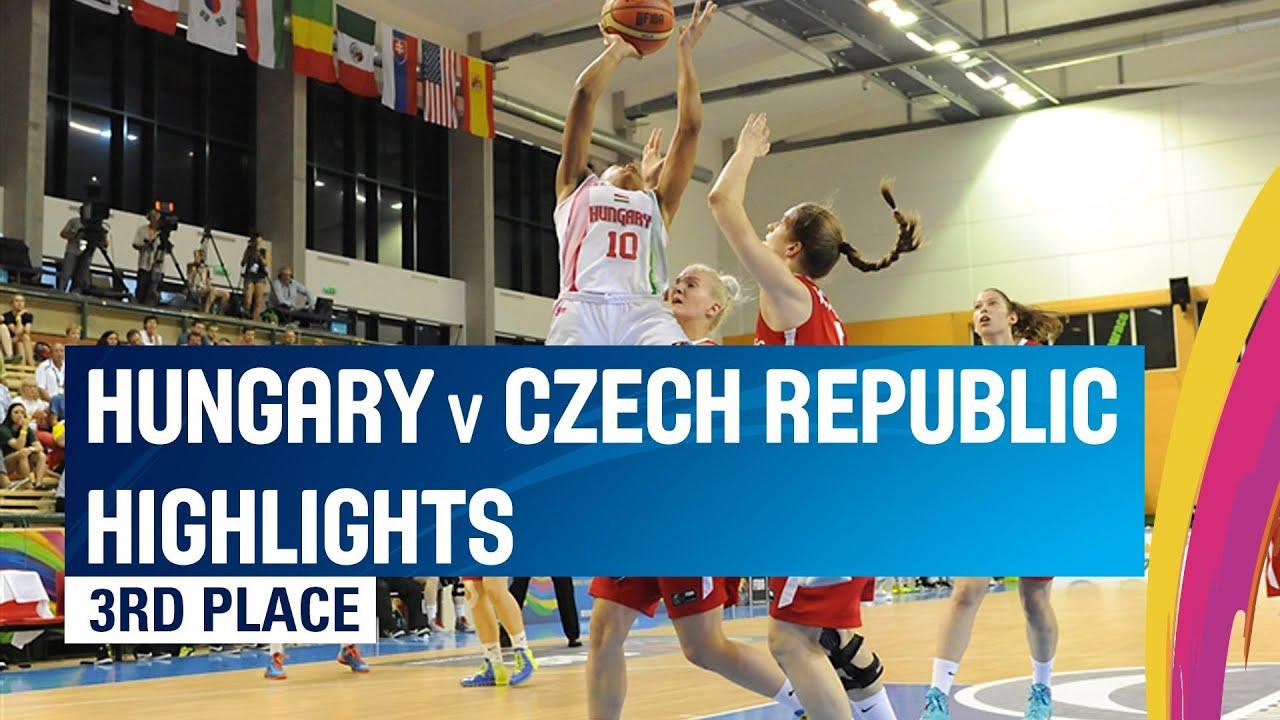 06 July - Hungary v Czech Republic - Highlights 3rd Place