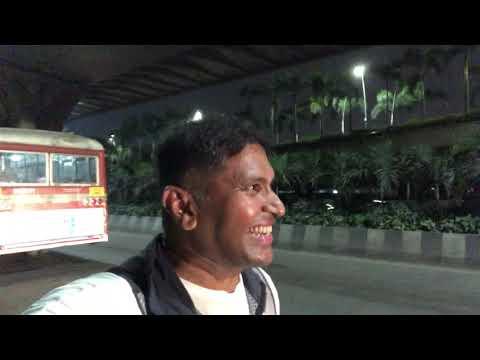Night Bus in Mumbai Suburb