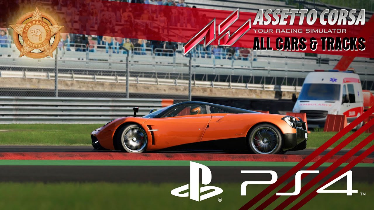 Assetto Corsa Ps4 All Cars Tracks Check Up Youtube