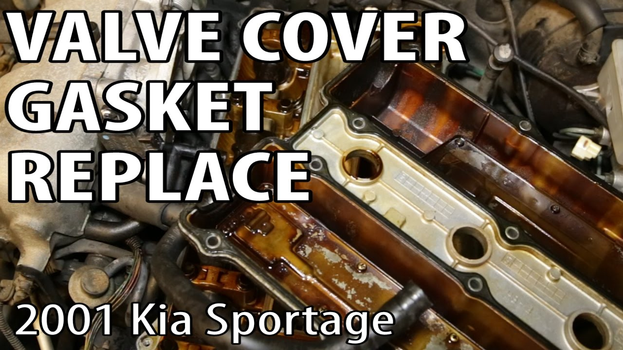 2001 KIA Sportage Oil Leak Valve Cover Gasket Repair Youtube. 2001 KIA Sportage Oil Leak Valve Cover Gasket Repair. KIA. 2005 KIA Rio Engine Diagram Of A Head Gasket At Scoala.co
