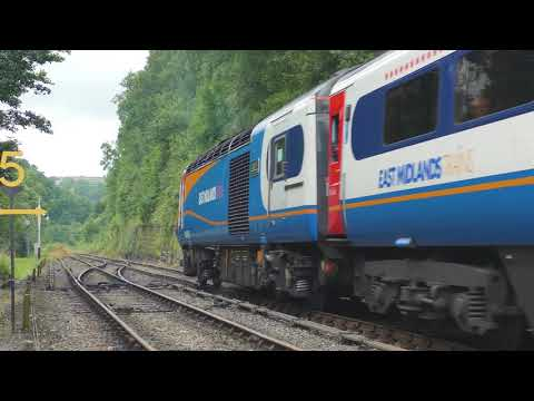 HST Class 43 Inter City 125 visits NYMR for the first time