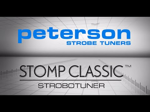 Peterson Tuners: Stomp Classic Strobotuner (Official)