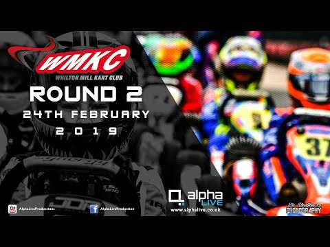 Whilton Mill Kart Club Round 2 LIVE From Whilton Mill