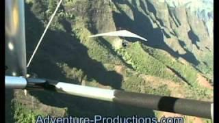 Trike Flying in Kauai Hawaii - Paul Hamilton first tour of Na Pali Coast