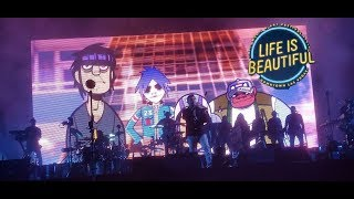 Gorillaz Full Live Performance | Life Is Beautiful 2017