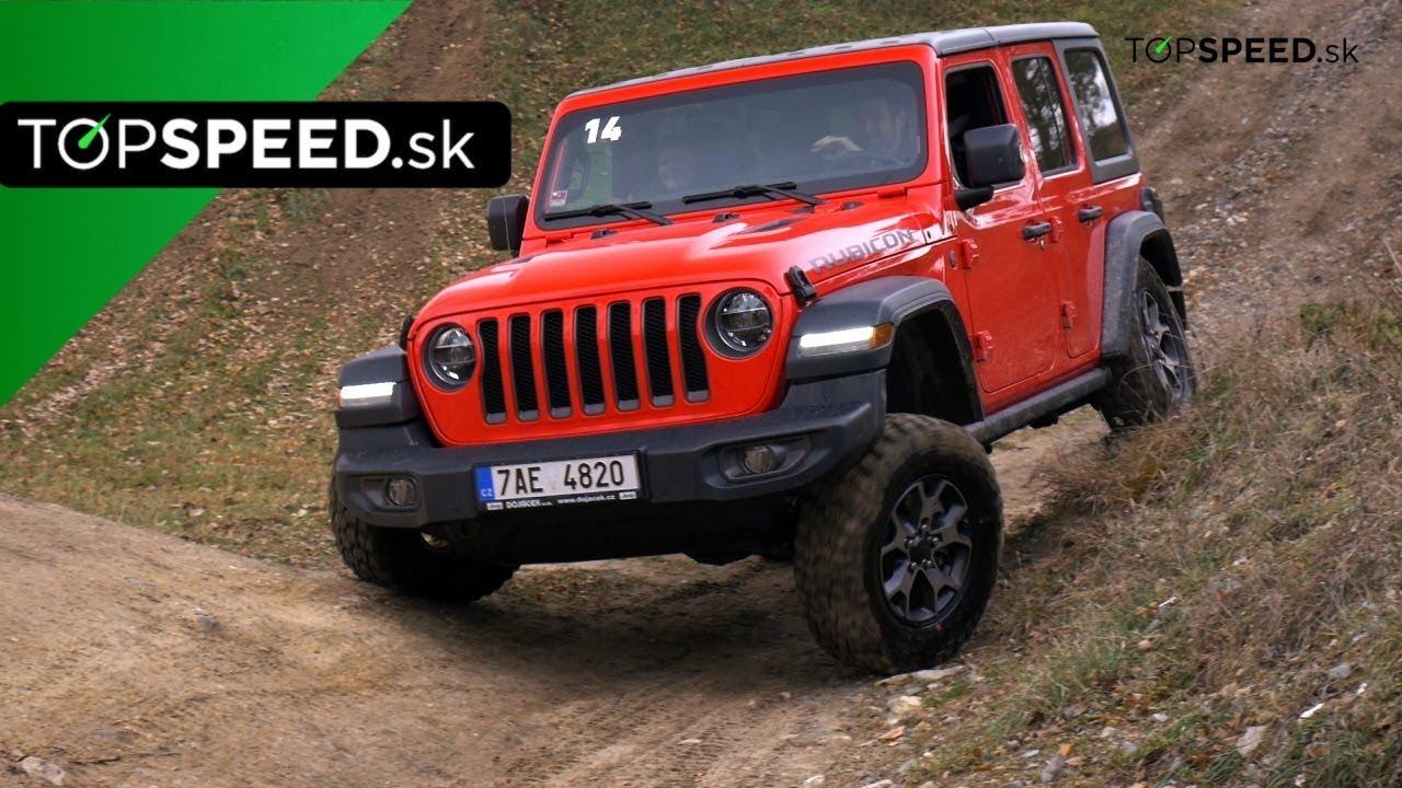 Jeep Wrangler Rubicon 2018 Jazda Alex Stefuca Topspeed Sk Youtube