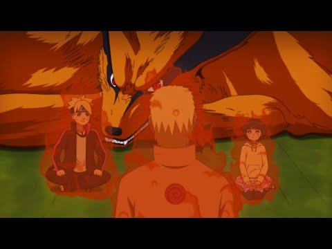 Boruto Naruto And Himawari Using Kurama's CHAKRA | Boruto Episode Fan Animation