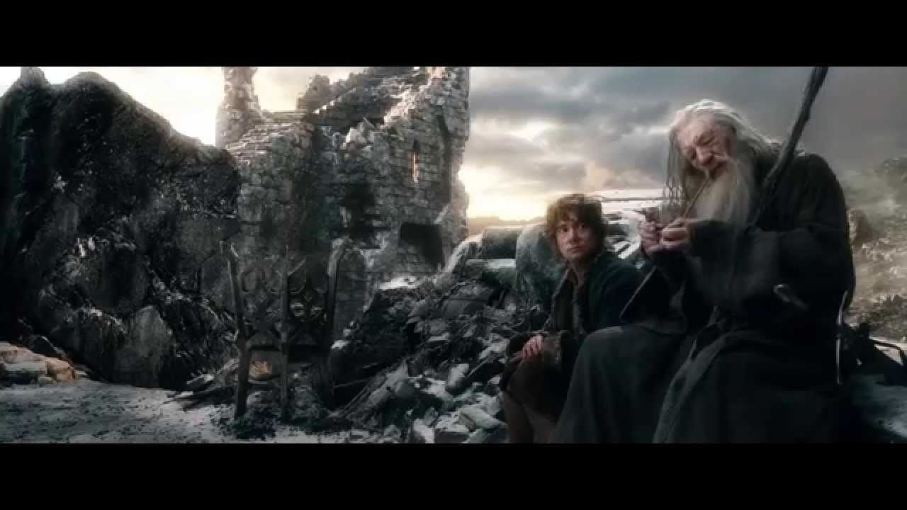 Bilbo And Gandalf After The Battle Youtube
