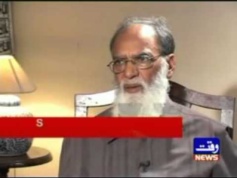 Pakistan's Nuclear History: Sultan Bashir Mahmood Waqt News Interview July 23 2009- Part 2.mp4