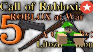 Roblox Gameplay Commentary - Chiamata di Robloxia 5: Roblox in guerra!