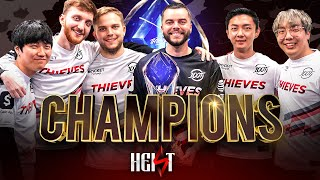 100 Thieves Wins FirstEver LCS Championship! (The Heist Finale)