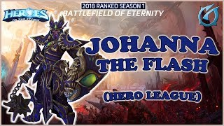 Grubby   Heroes of the Storm - Johanna - The Flash - HL 2018 S1 - Battelfield of Eternity