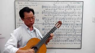 Học guitar căn bản cho người mới bắt đầu - Bài 16: SẦU ĐÔNG điệu TWIST