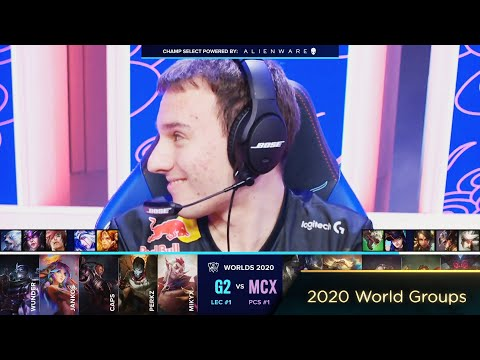 Caps Plays Lucian Mid - G2 VS MCX Highlights - 2020 World Groups D5