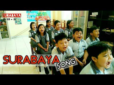 Surabaya Oh Surabaya - SD Kristen Anak Panah Surabaya - Elementary School - menyanyi lagu Indonesia