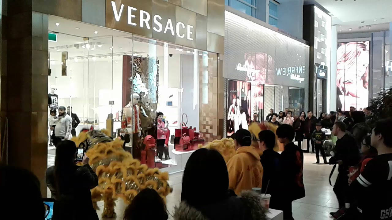0b38e7902a06cc Quick look at Versace Lunar New Year Celebration Yorkdale Mall Toronto