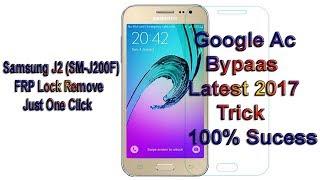 Samsung J2 Sm J200f Frp Lock Remove Just One Click 1000% - Urdu / Hindi