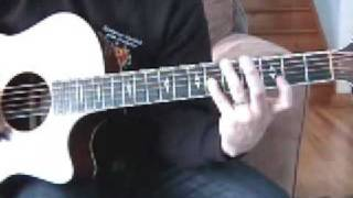 How to play Tripping Billies by Dave Matthews Band