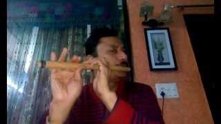 TU GANGA KI MAUJ MAIN JAMUNA KI DHARA ( Baiju Bawra ) FLUTE INSTRUMENTAL BY ALOK KULSHRESHTHA