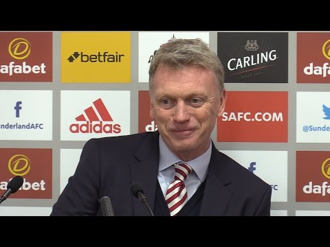 Liverpool 2-2 Sunderland - David Moyes Full Post Match Press Conference