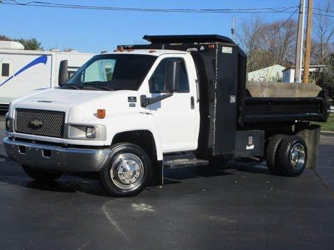 2004 Chevy C4500 Dump Truck DURAMAX DIESEL SOLD!!! - YouTube