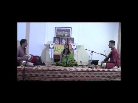 Maduradhvani Toronto 2016 series   Concert # 13 by Smt Kamaladeepthi Kasturi August 28, 2016