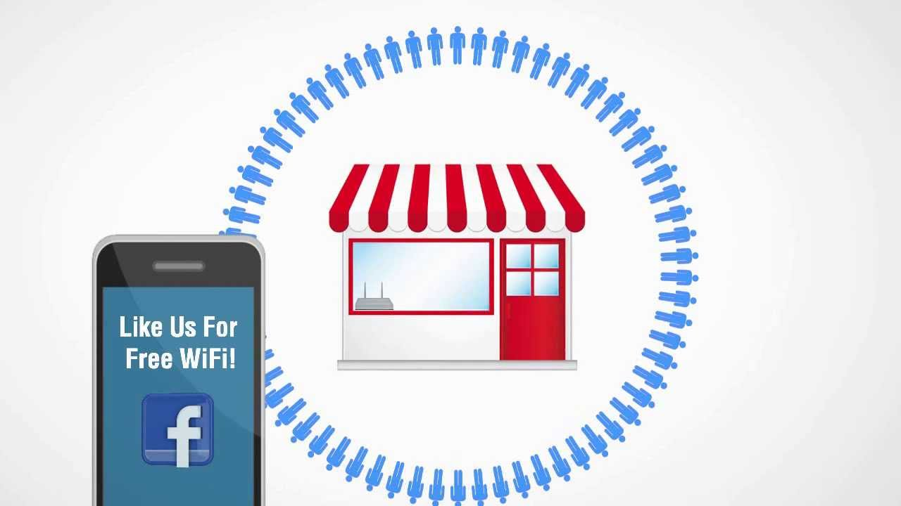 Social WiFi marketing hotspots send daily deals, digital coupons and offer  to local consumers