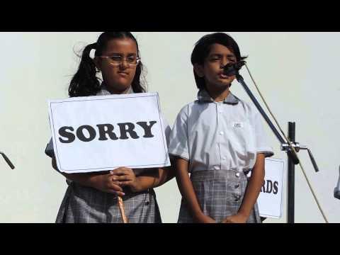 Morning Assembly - Grade IV B-CBSE Schools in Banjara Hills, Hyderabad