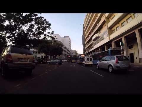 Sénégal Dakar centre ville en Gopro / Senegal Dakar city center Gopro