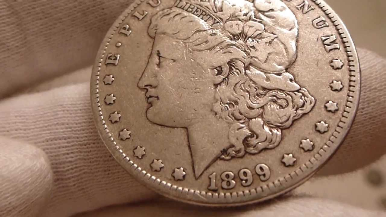 1899 O Morgan Silver Dollar Coin Review Youtube