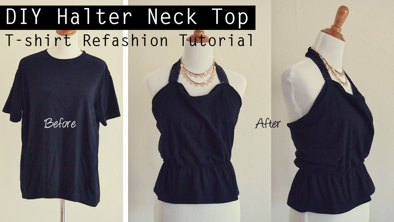 easy diy tutorial  old t