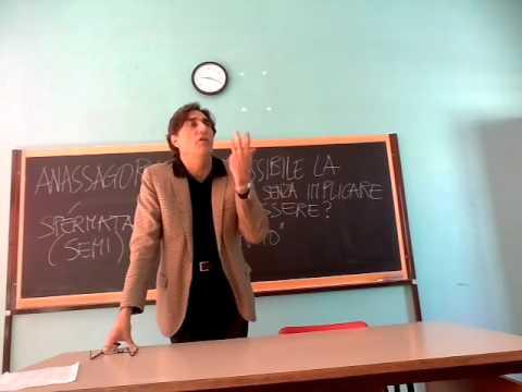 Anassagora: come la molteplicità senza implicare il nulla?