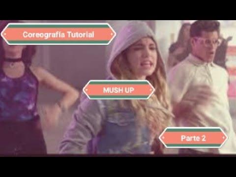 """Tutorial de la Coreografía """"Mush up""""/Go Vive a tu Manera/Duelo Mía y Lupe/ Paso a Paso/Segunda Parte thumbnail"""