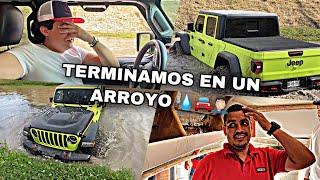 FUI A VER EL PROCESO DE LA LANCHA Y TERMINAMOS EN UN ARROYO | MARKITOS TOYS