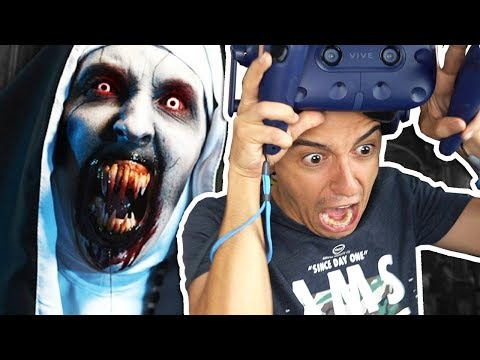 LA MONJA EN REALIDAD VIRTUAL!! 😱 REACCION AL VIDEO DE TERROR EN 360º