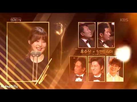 "Park Si Hoo ""Best Excellent Actor Award"" KBS Drama Award 2017"