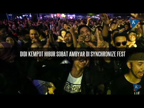 Didi Kempot Hibur Sobat Ambyar Di Synchronize Fest Youtube