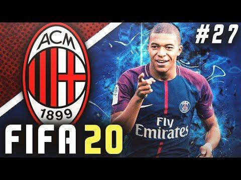 CHAMPIONS LEAGUE SEMI-FINALS VS PSG!! - FIFA 20 AC Milan Career Mode EP27
