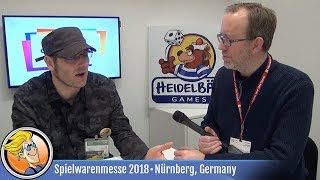 The Founding of HeidelBÄR Games — interview at Spielwarenmesse 2018
