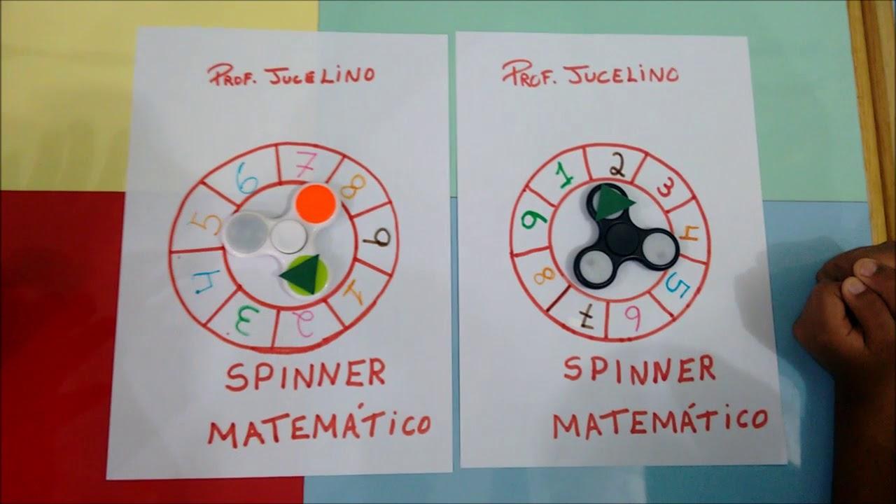 Spinner Matemático E Spinner Silábico