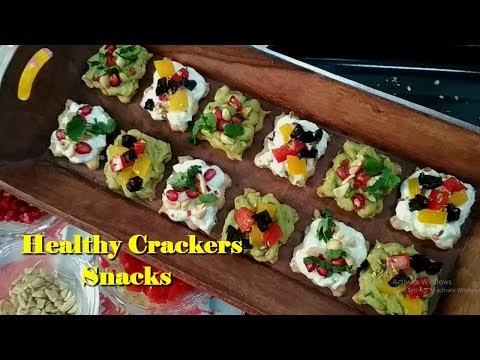 Healthy Crackers With  Homemade Spreads | Homemade Spreads And Crackers Snacks