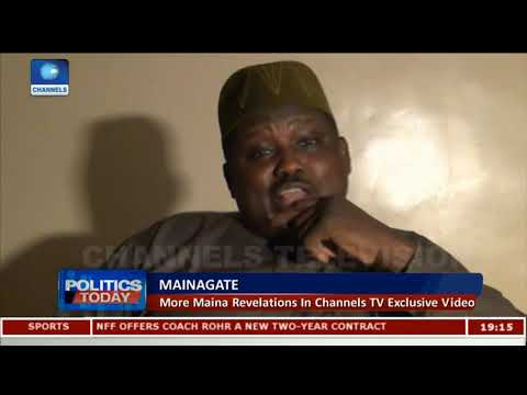 Maina Reveals 'Meeting' With AGF, How He Got Reinstated