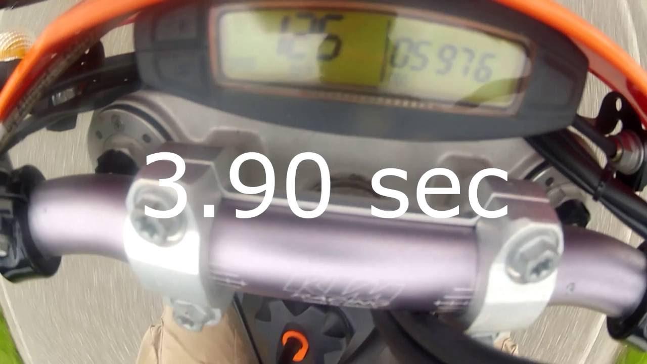 ktm exc r 530 motard 0 100 km h test 0 60 mph youtube. Black Bedroom Furniture Sets. Home Design Ideas