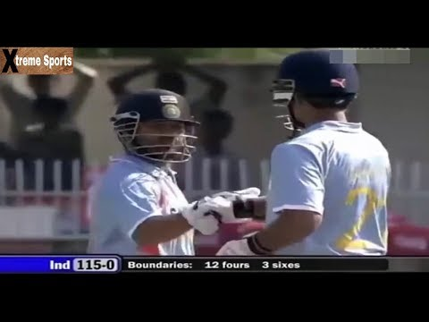 Famous Partnership between Tendulkar and Ganguly against Australia