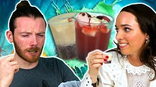 Irish People Try Gross Halloween Shots