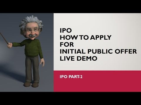 INITIAL PUBLIC OFFER (IPO) (PART-2)